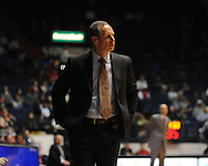 """Louisiana-Lafayette coach Bob Marlin at C.M. """"Tad"""" Smith Coliseum in Oxford, Miss. on Wednesday, December 14, 2011. (AP Photo/Oxford Eagle, Bruce Newman)"""