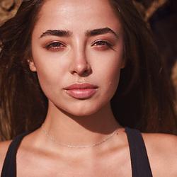 Model Nina Kolomiitseva by Los Angeles Fashion and Beauty Photographer Chris Violette