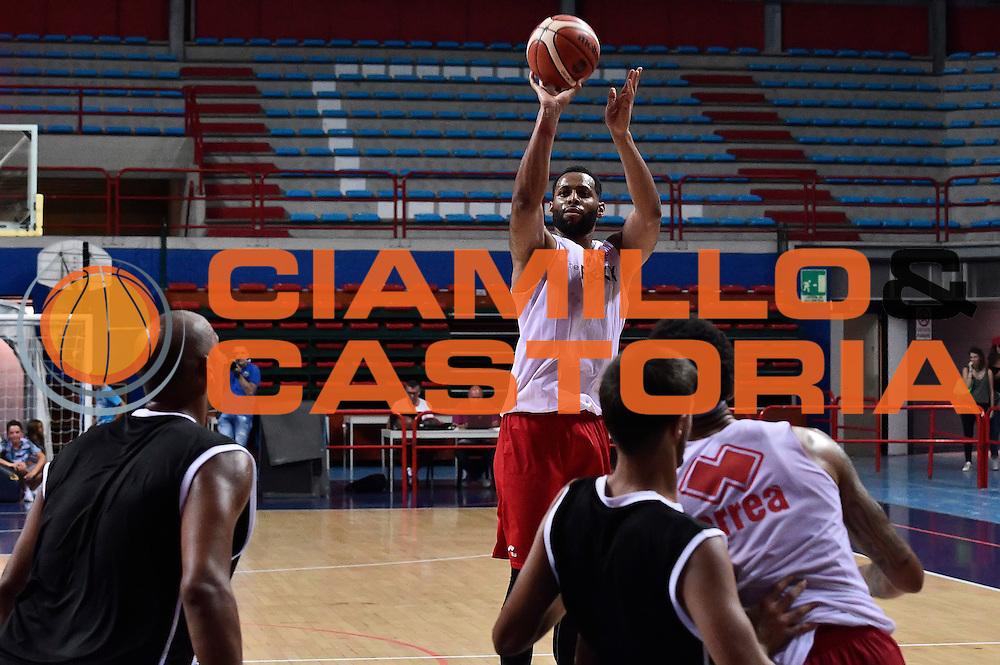 Marcus Thornton<br /> The Flexx Pistoia - Valentina's Bottegone<br /> Legabasket Serie A 2016/2017<br /> Montecatini, 28/08/2016<br /> Foto Ciamillo-Castoria