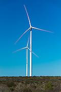 Two Wind Turbines on the Eskom Sere Wind Farm