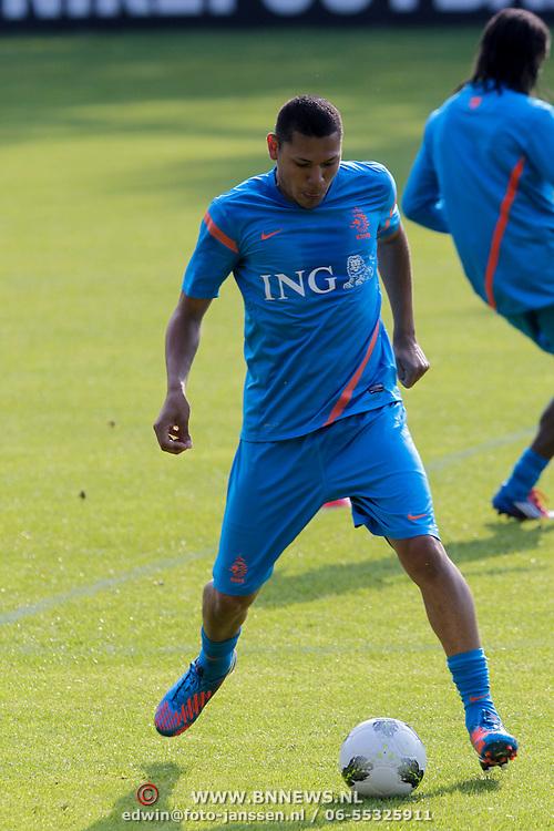 NLD/Hoenderloo/20120514 - !e training Nederlands elftal voor EK 2012, Hedwiges Maduro