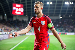 Jordan Henderson of England during football match between National teams of Slovenia and England in Round #3 of FIFA World Cup Russia 2018 Qualifier Group F, on October 11, 2016 in SRC Stozice, Ljubljana, Slovenia. Photo by Vid Ponikvar / Sportida