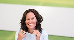 15.07.2014, Gruener Klub, Wien, AUT, Gruene, Bilanz vor Sommerpause des Parlaments und Aktuelles. im Bild Gruene Klubobfrau Eva Glawischnig // Leader of the parliamentary group the greens Eva Glawischnig<br /> during press conference of the greens about parliamentary summer recess at pressroom of the greens in Vienna, Austria on 2014/07/15. EXPA Pictures © 2014, PhotoCredit: EXPA/ Michael Gruber