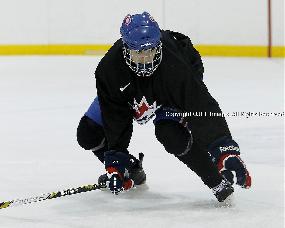 OAKVILLE, ON - Oct 28 : 2013 World Junior A Challenge / Defi Modial Junior A 2013,<br /> (Photo by Tim Bates / OJHL Images)