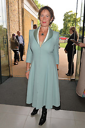 CELIA IMRIE at a summer drinks party hosted by Bec Astley Clarke at the Serpentine Sackler Gallery, Hyde Park, London on 17th June 2014.