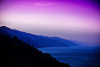 Sunrise, Big Sur coastline, Monterey County, California USA