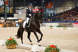 Fry Charlotte, NED, George Clooney<br /> KWPN Stallionshow - 's Hertogenbosch 2018<br /> © Hippo Foto - Dirk Caremans<br /> 02/02/2018