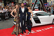 16.JULY.2013. LONDON<br /> <br /> THE UK PREMIERE OF 'THE WOLVERINE' AT THE EMPIRE IN LEICESTER SQUARE, LONDON<br /> <br /> BYLINE: EDBIMAGEARCHIVE.CO.UK<br /> <br /> *THIS IMAGE IS STRICTLY FOR UK NEWSPAPERS AND MAGAZINES ONLY*<br /> *FOR WORLD WIDE SALES AND WEB USE PLEASE CONTACT EDBIMAGEARCHIVE - 0208 954 5968*