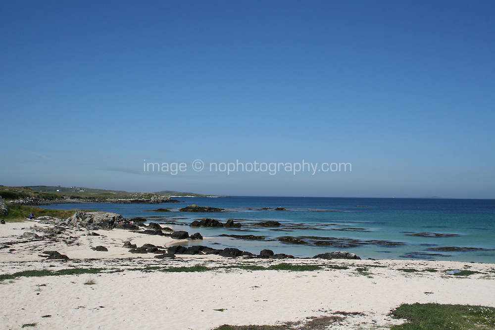 beach in Connemara County Galway Ireland