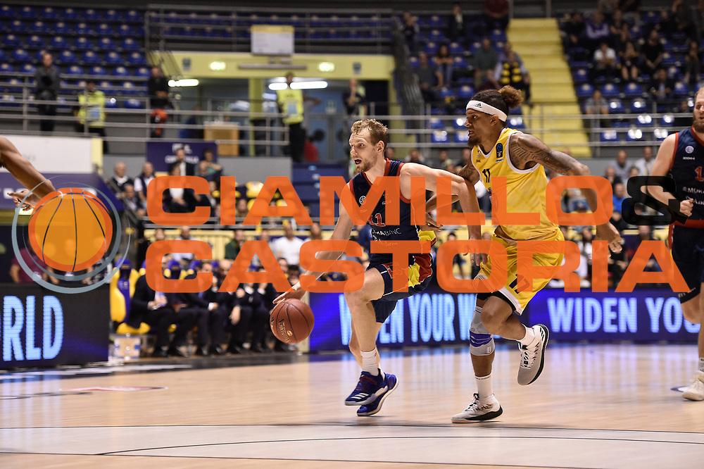 Blazic Jaka<br /> FIAT Torino - Morabanc Andorra La Vella<br /> Eurocup 7Days 2017-2018<br /> Torino 17/10/2017<br /> Foto M.Matta/Ciamillo &amp; Castoria