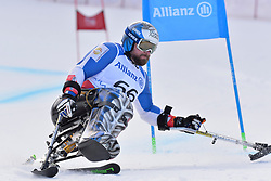 TABERLET Yohann LW12-1 FRA at 2018 World Para Alpine Skiing Cup, Kranjska Gora, Slovenia