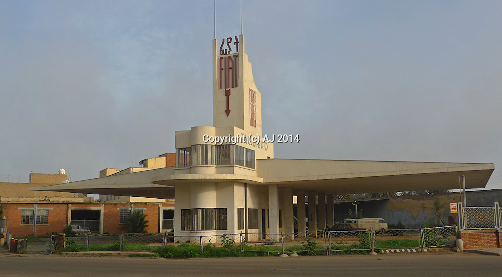 Fiat Tagliero Building, Asmara, Eritrea