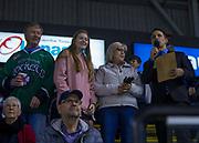 KELOWNA, CANADA - NOVEMBER 14:  Bark N' Fly at the Kelowna Rockets game on November 14, 2017 at Prospera Place in Kelowna, British Columbia, Canada.  (Photo By Cindy Rogers/Nyasa Photography,  *** Local Caption ***
