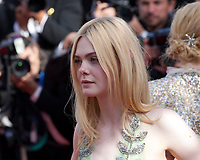 Actress Elle Fanning at the How To Talk To Girls At Parties gala screening at the 70th Cannes Film Festival Sunday 21st May 2017, Cannes, France. Photo credit: Doreen Kennedy