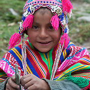 People in the village of Pilco Grande, a Quechua speaking native community in Southeastern Peru that is running a reforestation plot in the Andes near Cusco and the Interoceanic Highway.