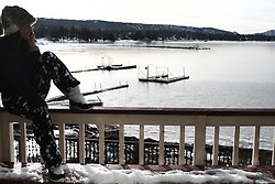frozen big bear lake cabin party for new year's eve