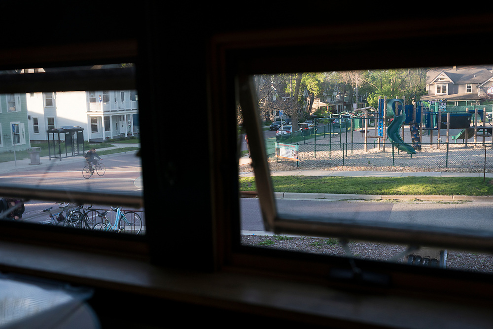A view towards the playground of the Wil-Mar Neighborhood Center in Madison, Wisconsin, Thursday, May 23, 2019.