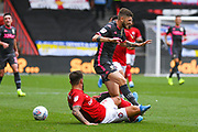 Mateusz Klich of Leeds United (43) reacts during the EFL Sky Bet Championship match between Bristol City and Leeds United at Ashton Gate, Bristol, England on 4 August 2019.
