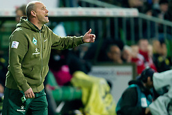 14.10.2011, Weser Stadion, Bremen, GER, 1.FBL, Werder Bremen vs Borussia Dortmund, im Bild.Thomas Schaaf (Trainer Werder Bremen).// during the Match GER, 1.FBL, Werder Bremen vs Borussia Dortmund on 2011/10/14,  Weser Stadion, Bremen, Germany..EXPA Pictures © 2011, PhotoCredit: EXPA/ nph/  Kokenge       ****** out of GER / CRO  / BEL ******