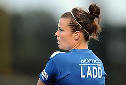 Hayley Ladd of Bristol Academy  - Mandatory byline: Dougie Allward/JMP - 07966386802 - 29/08/2015 - FOOTBALL - Stoke Gifford Stadium -Bristol,England - Bristol Academy Women FC v Birmingham City Ladies - FA WSL Continental Tyres Cup