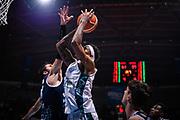 Shaheed Davis <br /> Pallacanestro Cantu' - Basket Leonessa Brescia<br /> Basket Serie A LBA 2018/2019<br /> Desio 07 April 2018<br /> Foto Mattia Ozbot / Ciamillo-Castoria