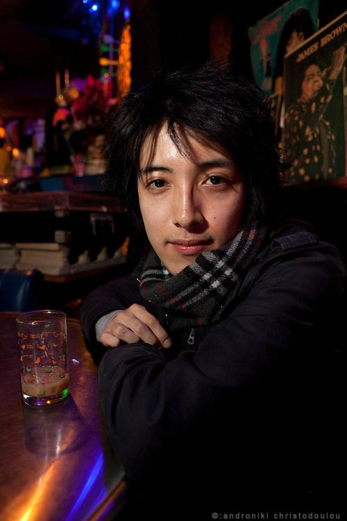 Yusuke at bar Sazae (interview)