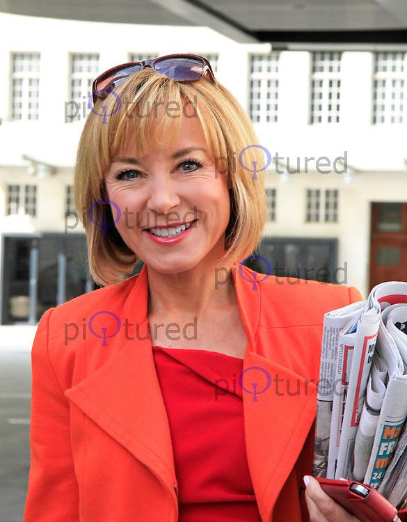 Sian Williams, BBC TV Studios, London UK, 23 August 2014, Photo by Mike Webster