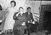 Kennedy in Ireland - with Relatives in Dunganstown.26.06.1963.<br />