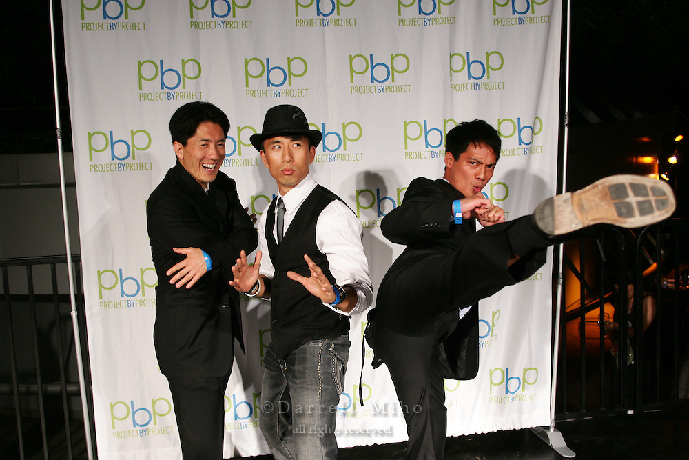 Aug 01, 2009; Los Angeles, CA, USA - Project by Project Plate by Plate fundraiser..Photo credit: Darrell MIho.