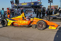 June 9, 2018 - Fort Worth, Texas, U.S - Indy car teams in action before the DXC Technology 600 race at Texas Motor Speedway in Fort Worth,Texas. (Credit Image: © Dan Wozniak via ZUMA Wire)