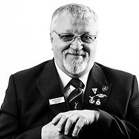 John Gilmour, RAF, 1969-1985, Corporal, Chef, Cyprus 1974, Veterans Portrait Project UK, London, England