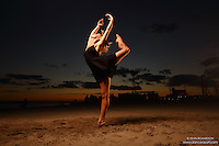 Dance As Art The New York City Photography Project Coney Island Beach Series with dancer Aly MCkenzie