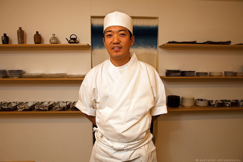 Koji Nakamura who will be teaching at the Sushi Academy in London.