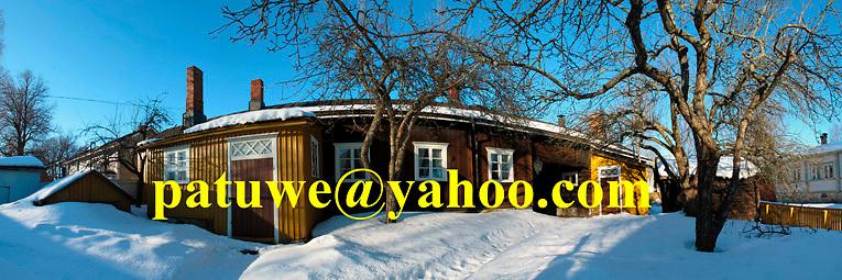 Scandinavia Finland Rauma Kirsti Museum in winter spring snow