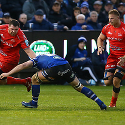 Jean-Luc du Preez of Sale Sharks right during the Gallagher Premiership match between Bath Rugby and Sale Sharks at the The Recreation Ground Bath England.2nd December 2018,(Photo by Steve Haag Sports)