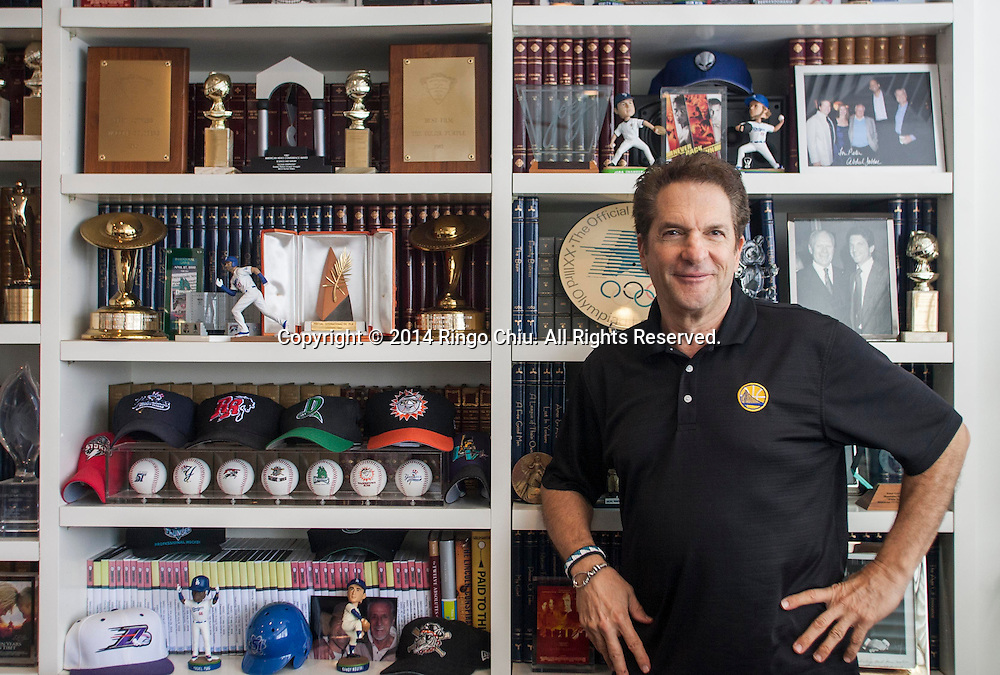Peter Guber, film producer and owner of several sports teams including the Dodgers. (Photo by Ringo Chiu/PHOTOFORMULA.com)