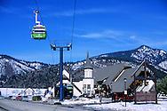 Silver Mountain Ski Resort Gondola at Kellog, north Idaho.