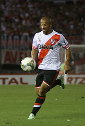 10.12.2014, River Plate Stadium, Buenos Aires, ARG, Südamerika Cup 2014, River Plate vs Atletico Nacional de Medellin, im Bild River Plate football player Carlos Sanchez // during the 2nd final match of Southamerican Cup between River Plate vs Atletico Nacional and Medellin at the River Plate Stadium in Buenos Aires, Argentina on 2014/12/10. EXPA Pictures © 2014, PhotoCredit: EXPA/ Eibner-Pressefoto/ Cezaro<br /> <br /> *****ATTENTION - OUT of GER*****