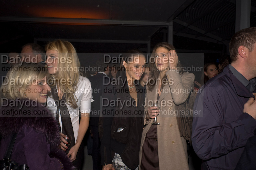 VIRGINIA DAMPSTA; MEREDITH OSTROM; ASHA VOLKOVA; GENIA SLYUSARENKA; ArtSensus presents ' Naked Soul' by Meredith Ostrom in support of Youth for Youth. Howick Place. London. 12 March 2009