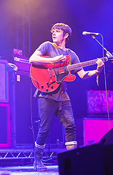 Kieren Webster of The View, plays the Clash Arena tent..Saturday at Rockness 2012..©Michael Schofield..