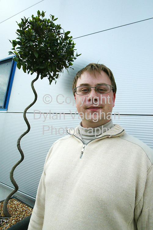 7/8/2004.Paul Mayfair wedding planner pictured in Kilkenny..Picture Dylan Vaughan