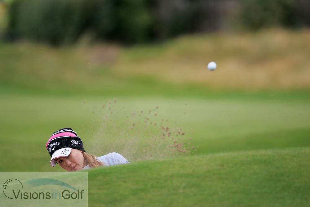 Momoko Ueda<br /> Ricoh Womens British Open 2012<br /> Picture Credit: Mark Newcombe  / www.visionsingolf.com