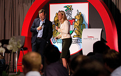 Bristol Sport Chief Operating Officer Mark Ashton is interviewed on stage by Lisa Knights at the Lansdown Club event - Mandatory by-line: Robbie Stephenson/JMP - 06/09/2016 - GENERAL SPORT - Ashton Gate - Bristol, England - Lansdown Club -