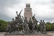 Mahnmal, Gedenkstätte Buchenwald, Weimar, Thüringen, Deutschland    memorial Buchenwald, Weimar, Thuringia, Germany