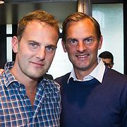 NLD/Amsterdam/20131003 -  Dad's moment , Ronald de Boer en zwager Jocob van Rozelaar