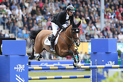 23.07.2017, Aachener Soers, Aachen, GER, CHIO Aachen, im Bild 0 Runde erster Umlauf: Eric Lamaze (CAN) auf Fine Lady // during the CHIO Aachen World Equestrian Festival at the Aachener Soers in Aachen, Germany on 2017/07/23. EXPA Pictures © 2017, PhotoCredit: EXPA/ Eibner-Pressefoto/ Roskaritz<br /> <br /> *****ATTENTION - OUT of GER*****