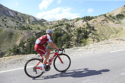 Maurits Lammertink (NED) Katusha Alpecin climbs Col d'Izoard during Stage 18 of the 104th edition of the Tour de France 2017, running 179.5km from Briancon to the summit of Col d'Izoard, France. 20th July 2017.<br /> Picture: Eoin Clarke | Cyclefile<br /> <br /> All photos usage must carry mandatory copyright credit (© Cyclefile | Eoin Clarke)