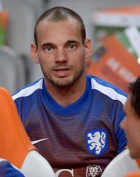 05-06-2015 NED: Oefeninterland Nederland - USA, Amsterdam<br /> Oranje verliest oefeninterland tegen Verenigde Staten met 4-3 / Wesley Sneijder #24
