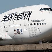 20160606 Iron Maiden 747 Schiphol