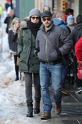 EXCLUSIVE: Newly pregnant Laura Prepon went arm in arm with fiance Ben Foster as they were spotted going for a romantic stroll through the winter streets of Park City, Utah. The engaged couple hit the streets for the Sundance Film Festival where Laura has her film The Hero premiering. The Hell or High Water actor wore a baseball cap, winter jacket and backpack while Laura covered up in a green jacket, back scarf, beanie and sunglasses. 21 Jan 2017 Pictured: Laura Prepon, Ben Foster. Photo credit: Atlantic Images / MEGA TheMegaAgency.com +1 888 505 6342